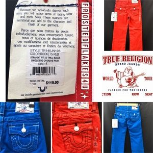 🌟NEW✨ True Religion Kids Jeans, 2 colors avail